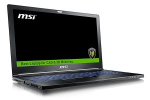 MSI WS63VR 7RL-024US for CAD design