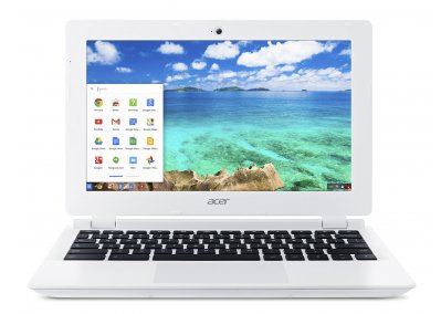 Acer Chromebook front (screen)